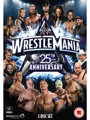 WWE - Wrestlemania 25 (3x DVD)