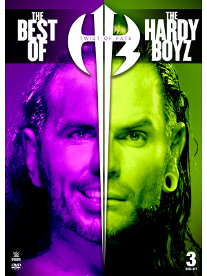 WWE - Twist Of Fate - The Best Of The Hardy Boyz (3x DVD)
