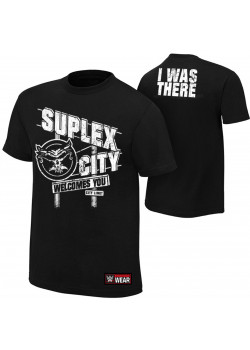 WWE - Brock Lesnar - Suplex City Welcomes You (Authentic T-Shirt)