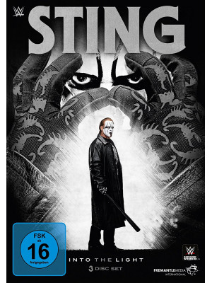 WWE - Sting - Into The Light (3x DVD)