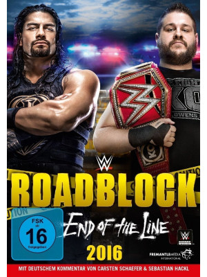 WWE - Roadblock 2016 (DVD)
