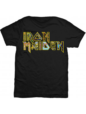 Iron Maiden - Eddie Band Logo (T-Shirt)