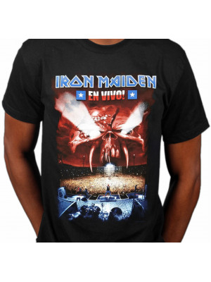 Iron Maiden - En Vivo! (T-Shirt)