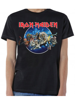 Iron Maiden - Wasted Years Circle (T-Shirt)