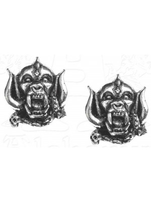 Motörhead - War Pig Snaggletooth (Stud Earrings Ohrstecker)