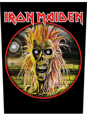 Iron Maiden - First Album Eddie (Back Patch Rückenaufnäher)