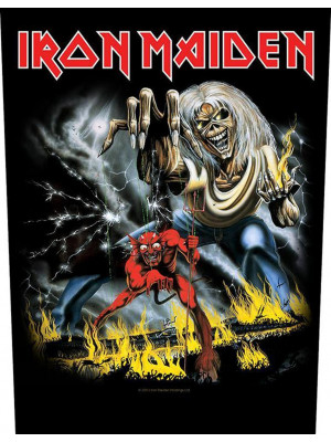 Iron Maiden - The Number Of The Beast (Back Patch Rückenaufnäher)