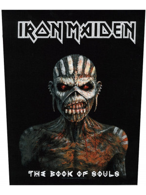 Iron Maiden - The Book Of Souls (Back Patch Rückenaufnäher)