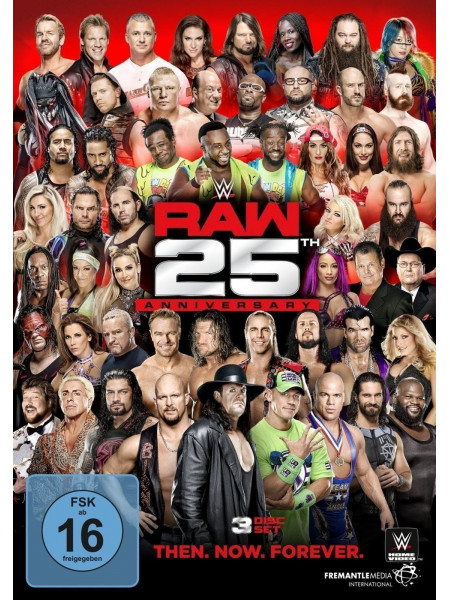 WWE - Monday Night RAW 25th Anniversary (3x DVD)