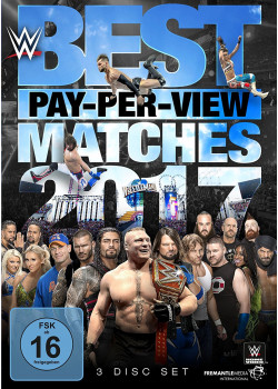 WWE - The Best PPV Pay Per View Matches 2017 (3x DVD)