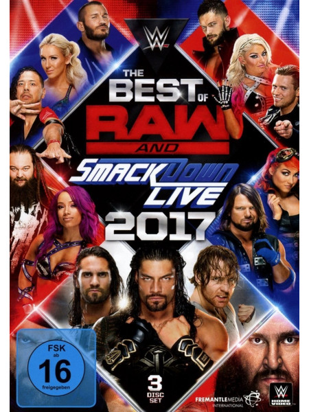 WWE - The Best Of Monday Night RAW And Smackdown 2017 (3x DVD)