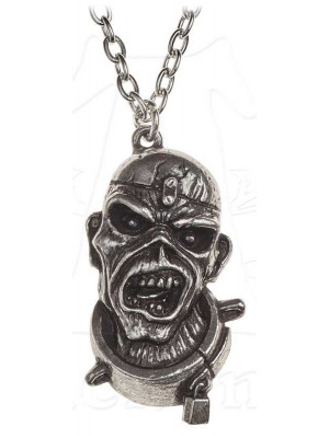 Iron Maiden - Piece Of Mind (Pewter Pendant)