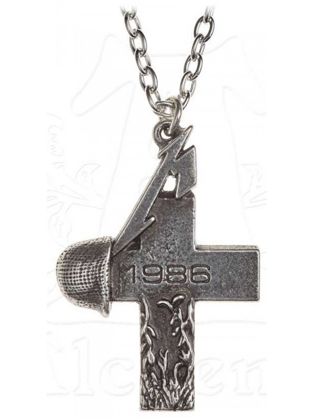 Metallica - Master Of Puppets Cross (Pewter Pendant)