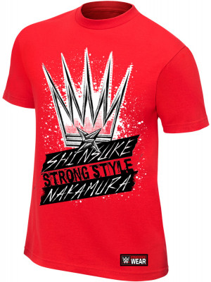 WWE - Shinsuke Nakamura - The King Of Strong Style (Authentic T-Shirt)