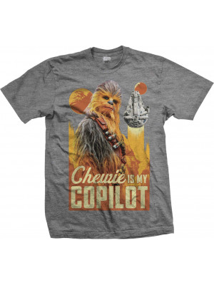 Han Solo: A Star Wars Story - Chewie Is My Co-Pilot (T-Shirt)