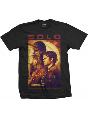 Han Solo: A Star Wars Story - Han & Chewbacca Profile (T-Shirt)