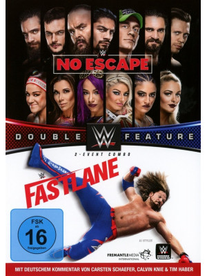 WWE - Elimination Chamber No Escape & Fastlane 2018 (2x DVD)