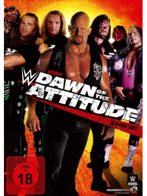 WWE - 1997 Dawn Of The Attitude (3x DVD)