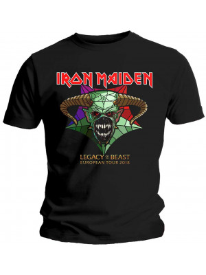 Iron Maiden - Legacy Of The Beast European Tour 2018 (T-Shirt)