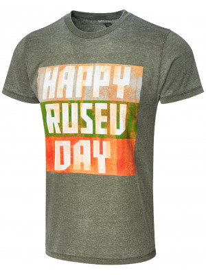 WWE - Rusev - Happy Rusev Day (Authentic Retro T-Shirt)