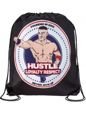 WWE - John Cena - Hustle Loyalty Respect (Drawstring Bag)
