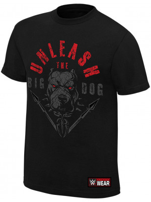 WWE - Roman Reigns - Unleash The Big Dog (Authentic T-Shirt)