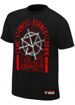 WWE - Seth Rollins - Came Stomped Burned It Down (Authentic T-Shirt)
