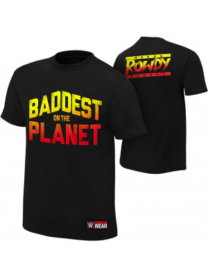 WWE - Ronda Rousey - Baddest On The Planet (Authentic T-Shirt)
