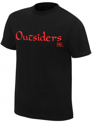 WWE - NWO Wolfpac - Outsiders (Authentic Retro T-Shirt)