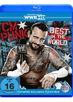 WWE - CM Punk - The Best In The World (2x Blu-Ray)