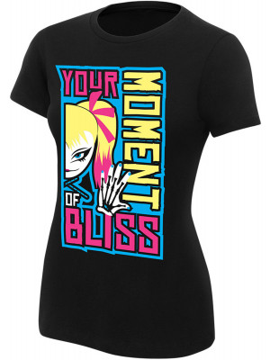 WWE - Alexa Bliss - Your Moment Of Bliss (Authentic Womens Girlie T-Shirt)