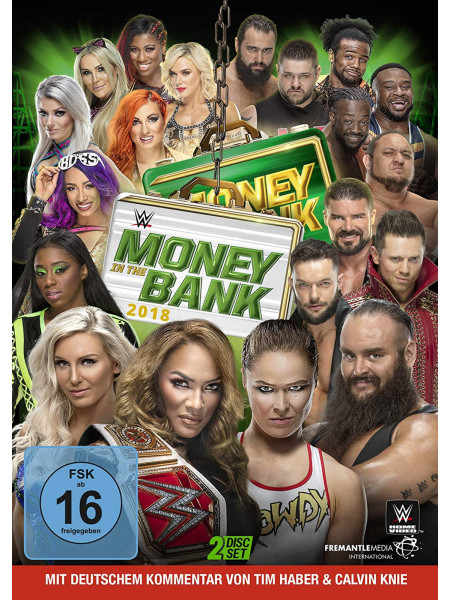 WWE - Money In The Bank 2018 (2x DVD)