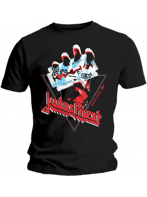 Judas Priest - British Steel Triangle (T-Shirt)