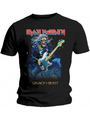 Iron Maiden - Eddie On Bass Legacy Of The Beast (T-Shirt)