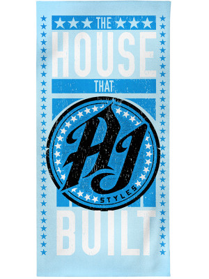 WWE - AJ Styles - The House That AJ Built (Badehandtuch)