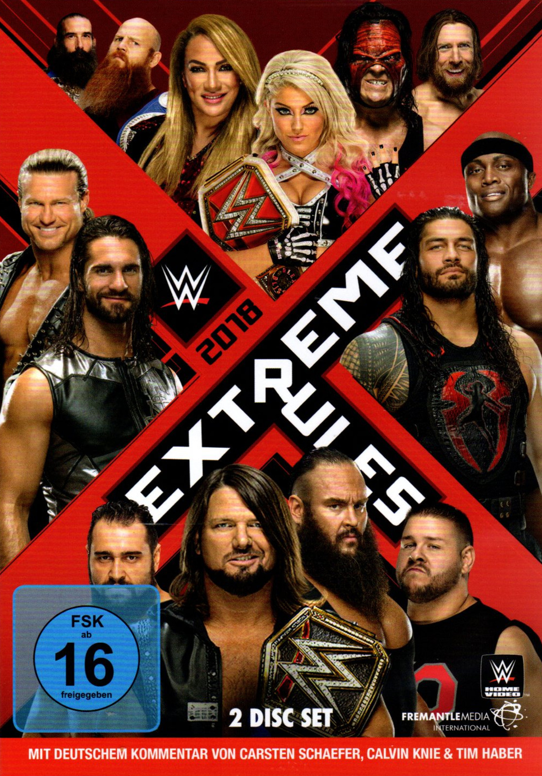WWE - Extreme Rules 2018 (2x DVD)
