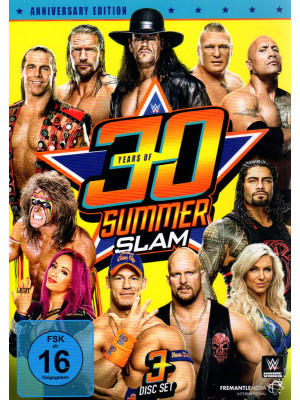 WWE - 30 Years Of Summerslam (3x DVD)