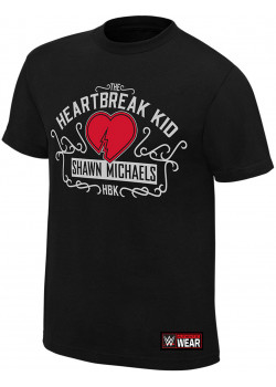 WWE - Shawn Michaels - The Heartbreak Kid HBK (Authentic T-Shirt)