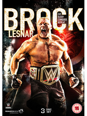 WWE - Brock Lesnar - Eat Sleep Conquer Repeat (3x DVD)