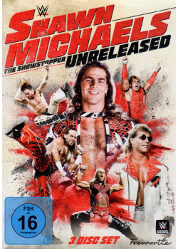 WWE - Shawn Michaels - The Showstopper Unreleased (3x DVD)