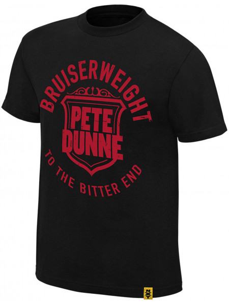 WWE - Pete Dunne - Bruiserweight To The Bitter End (Authentic T-Shirt)