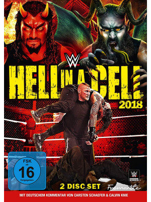 WWE - Hell In A Cell 2018 (2x DVD)