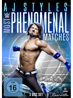 WWE - AJ Styles - Most Phenomenal Matches (3x DVD)