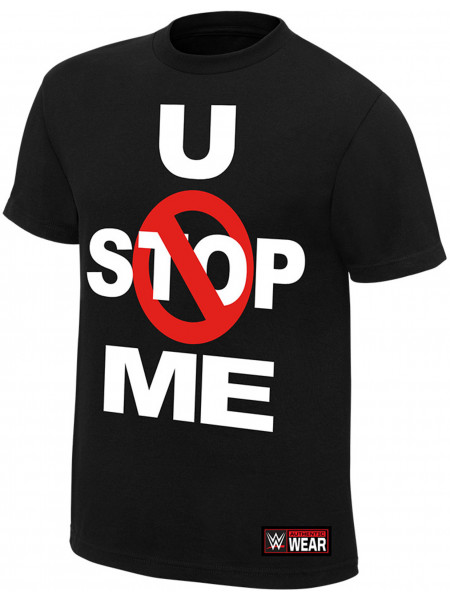 WWE - John Cena - U Can't Stop Me (Authentic T-Shirt)