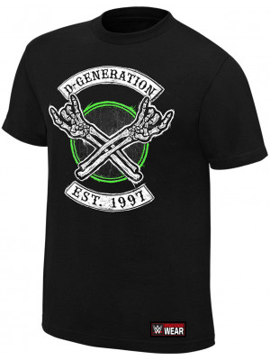 WWE - D-Generation X - DX 2018 Est. 1997 (Authentic T-Shirt)