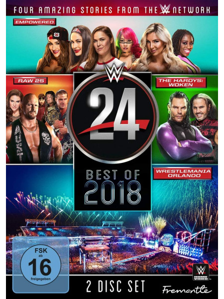 WWE - The Best Of WWE 24 2018 (2x DVD)