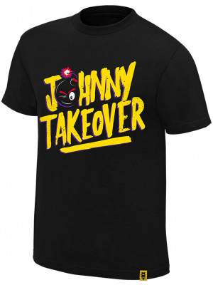 WWE - Johnny Gargano - Johnny Takeover (Authentic T-Shirt)