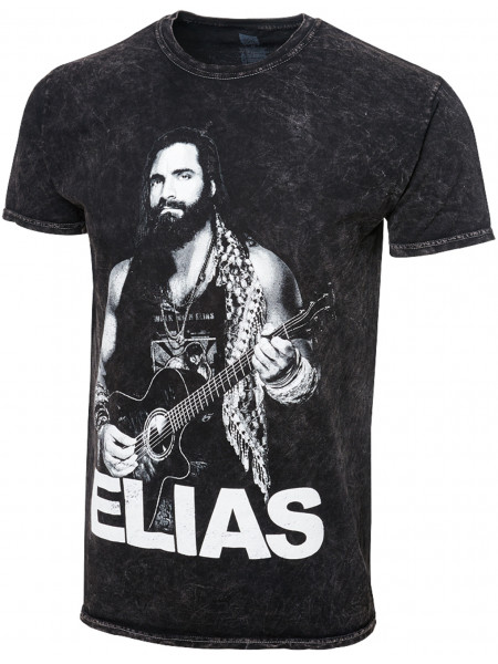 WWE - Elias - Walk With Elias (Authentic Mineral Wash T-Shirt)