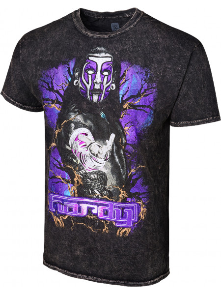WWE - Jeff Hardy - Obsolete (Authentic Mineral Wash T-Shirt)