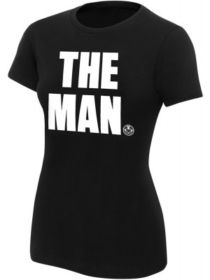 WWE - Becky Lynch - The Man (Authentic Womens Girlie T-Shirt)